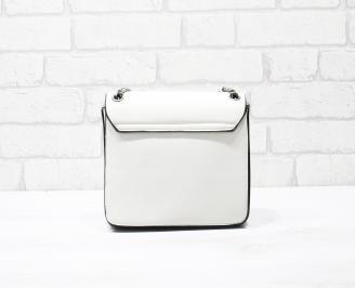 Дамска чанта еко кожа бежова PVYO-26339