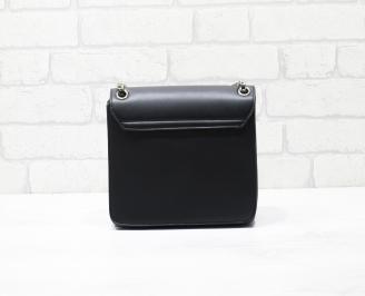 Дамска чанта еко кожа черна VPYQ-26340