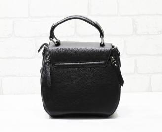 Дамска чанта еко кожа черна IXWB-26341