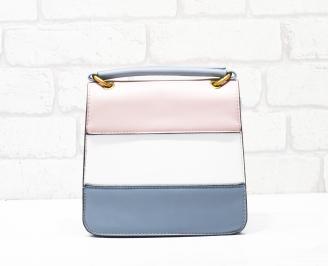 Дамска чанта еко кожа шарена XUXP-26343