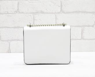 Дамска чанта еко кожа бяла BXHB-26348