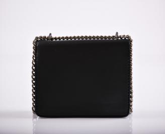 Дамска чанта еко кожа черна STNW-26349