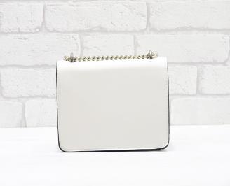 Дамска чанта еко кожа бежова SJFX-26350