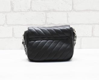 Дамска чанта еко кожа черна LLZA-26370