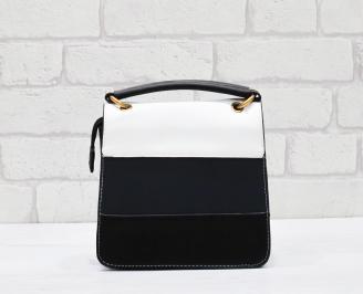 Дамска чанта еко кожа шарена ECDN-26374