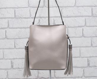 Дамска чанта еко кожа розова AABH-26394