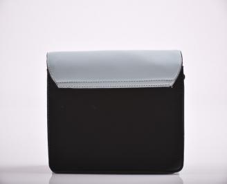 Дамска чанта еко кожа черна KFSG-27177