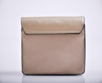 Дамска чанта еко кожа златиста AEWS-27178