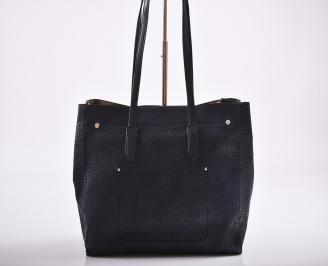 Дамска чанта еко кожа синя TGYT-27180