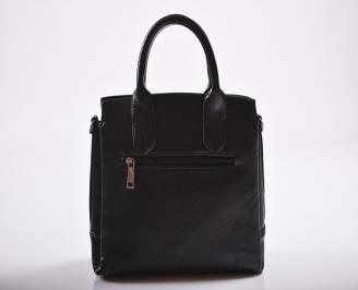 Дамска чанта еко кожа черна OLSX-27197