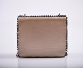 Дамска чанта еко кожа златиста MKGA-27222