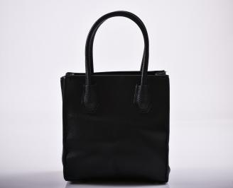 Дамска чанта еко кожа черна TCBV-27229