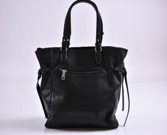 Дамска чанта еко кожа черна PDFP-27352