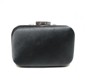 Дамска чанта еко кожа/сатен черна YSYF-16015