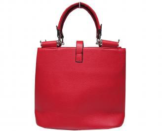 Дамска чанта еко кожа червена YXQE-17217