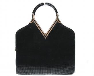Дамска чанта еко кожа черна MWVW-19416