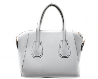 Дамска чанта еко кожа бяла RLSX-19817