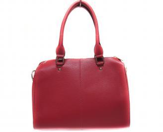 Дамска чанта еко кожа червена ODWR-19944