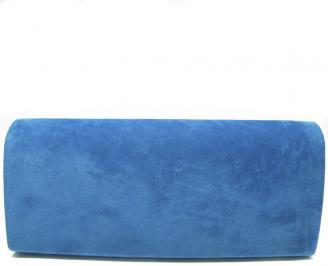Дамски бални чанти набук сини MRCX-13905