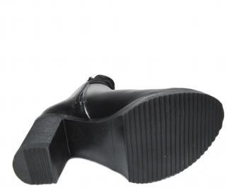 Дамски боти черни естествена кожа RMAP-22677
