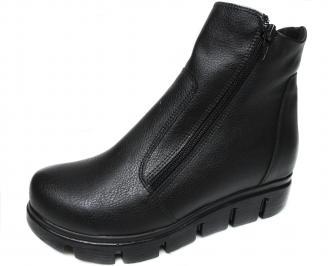 Дамски боти еко кожа черни SEGS-20477