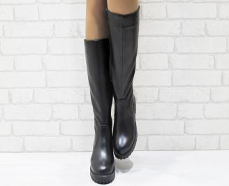 Дамски ботуши от естествена кожа YSKP-25538