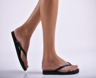 Дамски чехли  черни BLFL-27289