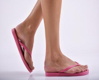 Дамски чехли розови JISD-27292