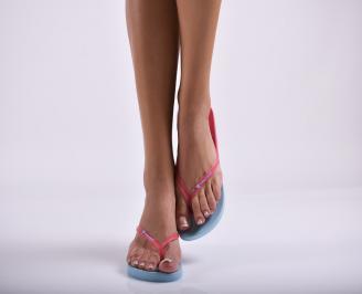 Дамски чехли розови TMBR-27299