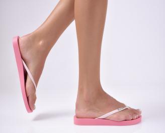 Дамски чехли розови VYMS-27302