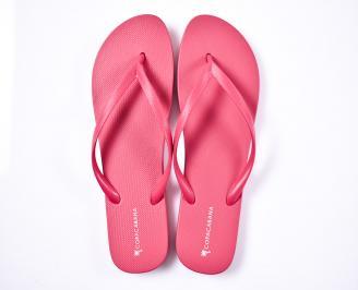 Дамски чехли силикон  розови YUWB-1012369