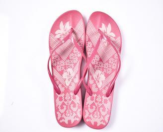 Дамски чехли силикон  розови WYBQ-1012400