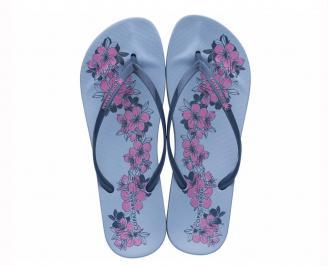 Дамски чехли сини XDCF-27290