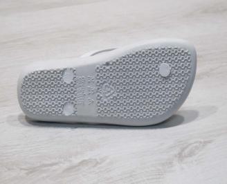 Дамски джапанки силикон бели DBEC-24789