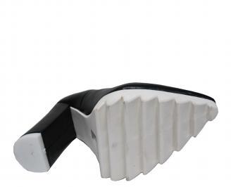 Дамски елегантни обувки еко кожа черни NQCK-21380