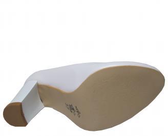 Дамски елегантни обувки еко кожа бели HPJQ-22313