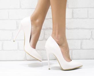 Дамски елегантни обувки еко кожа розови MPVZ-25706