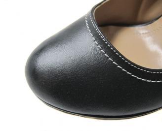 Дамски елегантни обувки еко кожа черни MWAR-11621