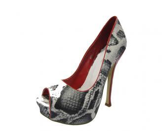 Дамски елегантни обувки еко кожа шарени FWVO-11766