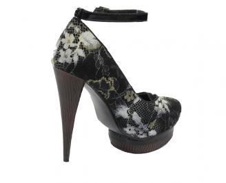 Дамски елегантни обувки еко кожа шарени QQKK-10450