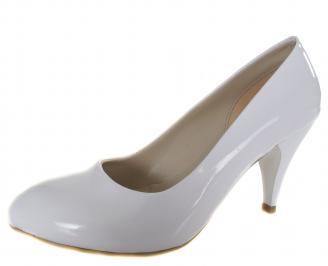Дамски елегантни обувки бели еко кожа/лак XIIT-19130