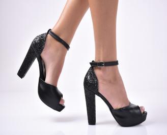 Дамски  елегантни сандали  черен YZSV-1013514