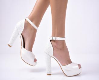 Дамски  елегантни сандали  бели QJXZ-1013559