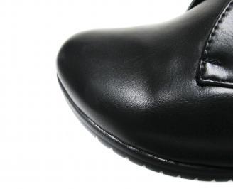 Дамски ежедневни боти еко кожа черни GTNA-20266