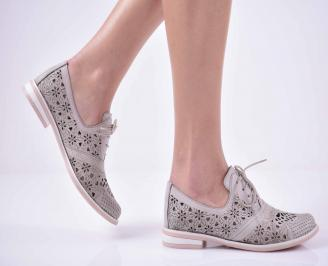 Дамски ежедневни обувки  сиви VBCO-1014841