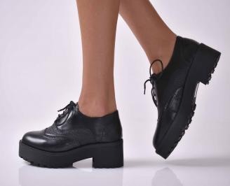 Дамски ежедневни обувки черни  AENR-1016046
