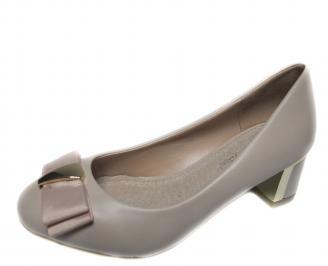 Дамски ежедневни обувки еко кожа бежови XGWO-20957