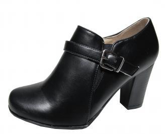 Дамски ежедневни обувки еко кожа черни ZCYW-22141