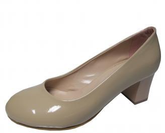 Дамски ежедневни  обувки еко кожа бежови OYJD-22305