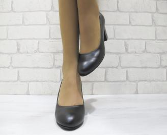 Дамски ежедневни обувки еко кожа черни TYSV-23031